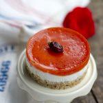 Cheesecake salata con base di Taralli alle olive