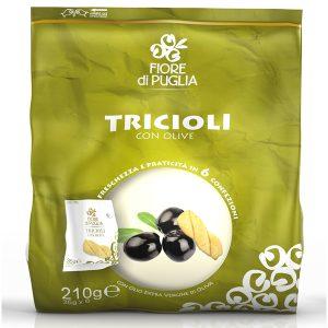 Multipack tricioli con olive pugliesi