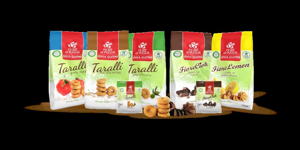 Taralli senza Glutine Fiore di Puglia