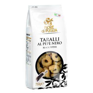 Taralli al pepe nero Fiore di Puglia