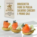 Bruschetta Salmone, Carciofi e Primo Sale | Fiore di Puglia