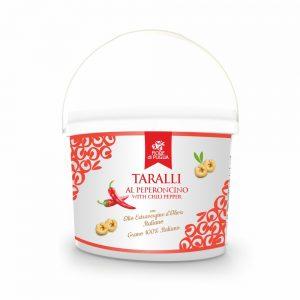 Secchiello Taralli al Peperoncino 3kg