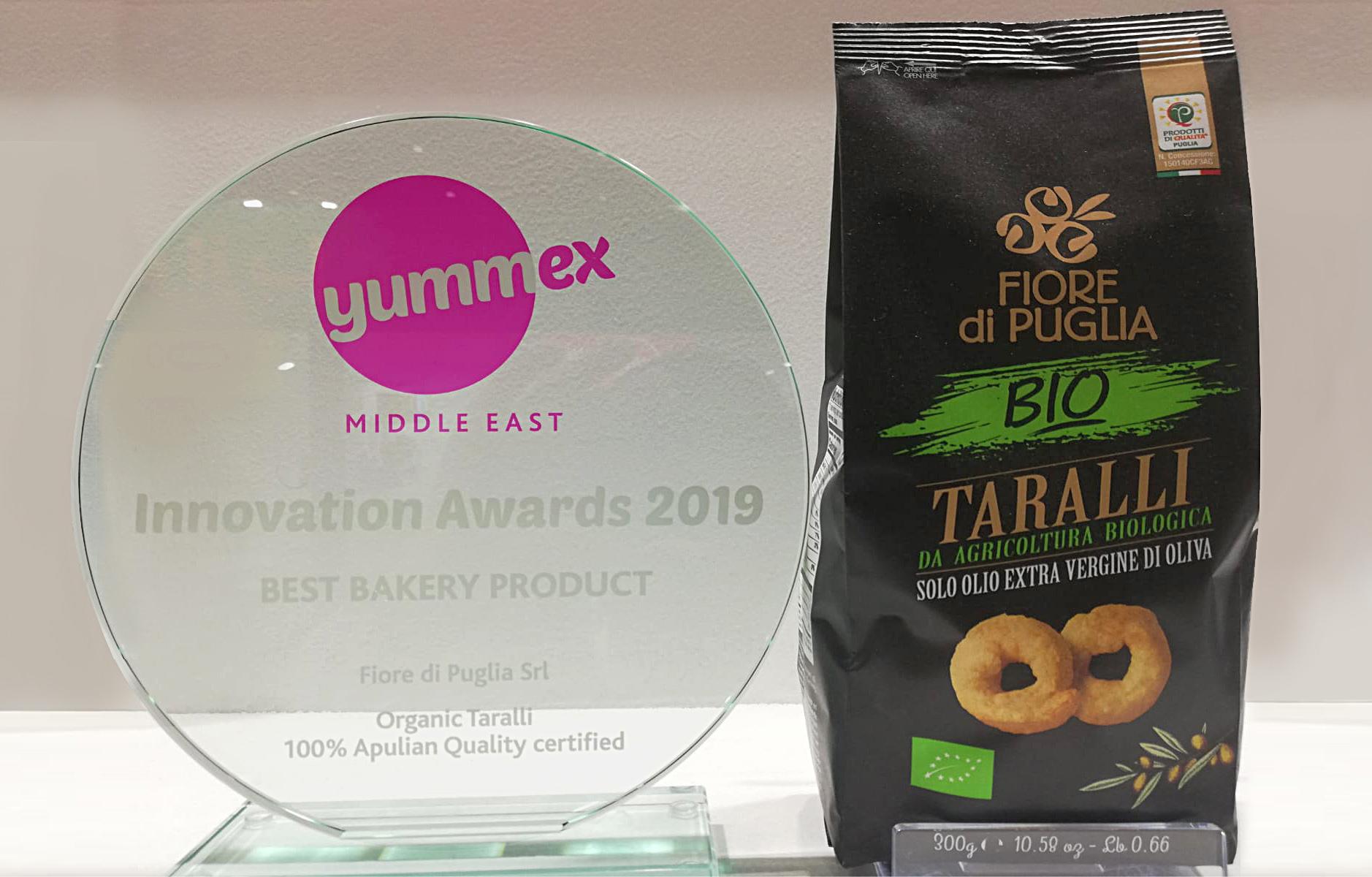"""DUBAI: FIORE DI PUGLIA VINCE IL PREMIO """"INNOVATION AWARDS BEST BAKERY PRODUCT"""""""