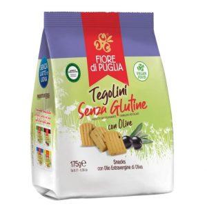 Tegolini alle Olive Senza Glutine
